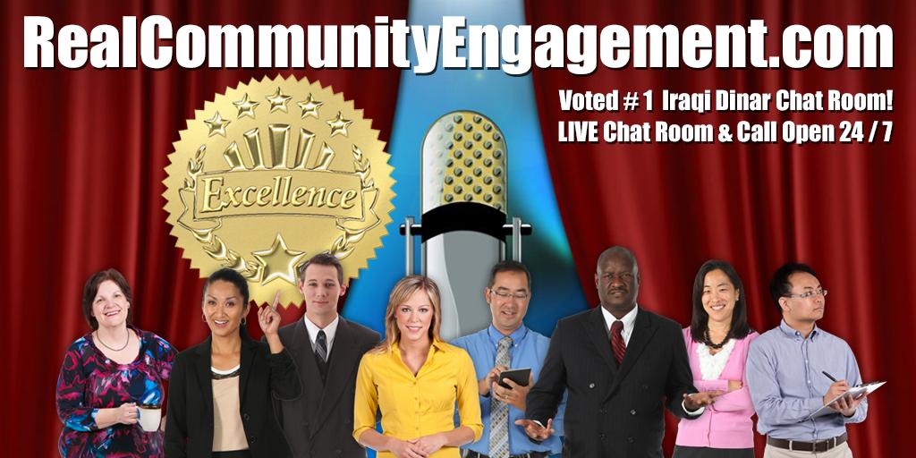 Iraqi Dinar Live Chat Real Community Engagement Rv Intel Iqd Iraq