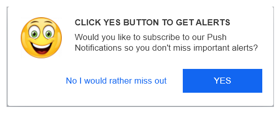 This is a SAMPLE image. It is NOT where you click to get push notifications.